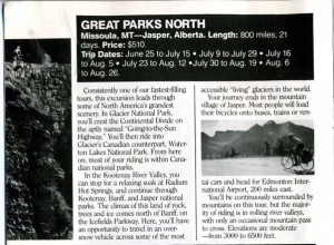 Great Parks North Trip Summary