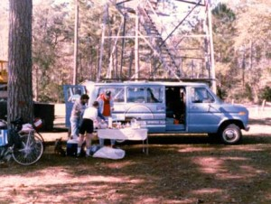 Swanee Country Tours Van at Fire Watchtower