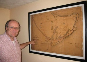 City Point Map Framed