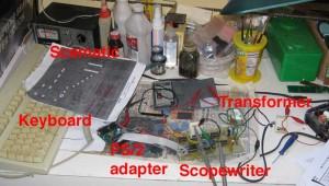 Scopewriter setup