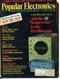 Radio Electronics cover