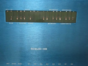 SCELBI front panels