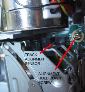 Track Alignment Sensor