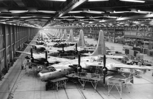 B-32 Bombers under construction at Air Force Plant #4