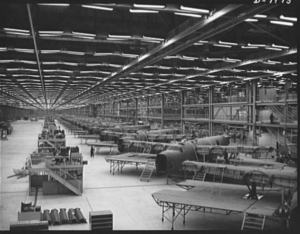 B-24s Under Construction