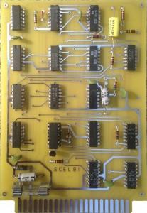 Reproduction SCELBI Cassette Write Card