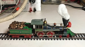 Generic USMRR Locomotive - paint based on Govenor Nye, a Norris built 4-4-0